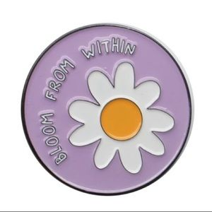 Bloom From Within Pin Badge